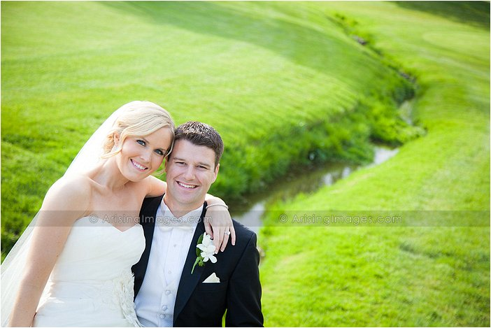 wedding photography at oakland hills country club, mi
