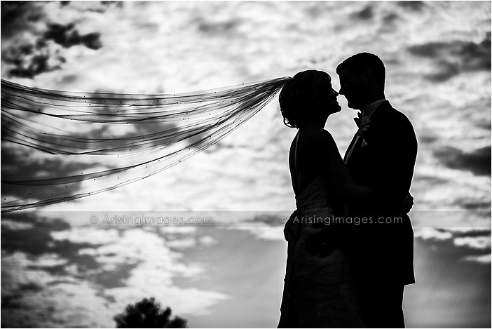 artistic wedding photography at oakland hills country club