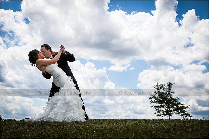 beautiful outdoor wedding photography
