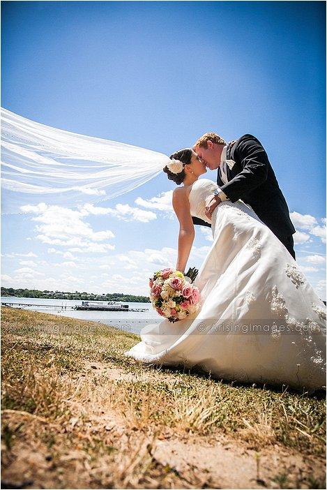 beautiful michigan wedding ceremony photography