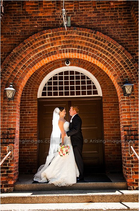 amazing wedding photography at st. hugo's church mi