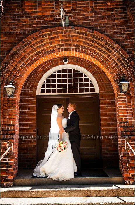 amazing wedding photography at st. hugo's church mi