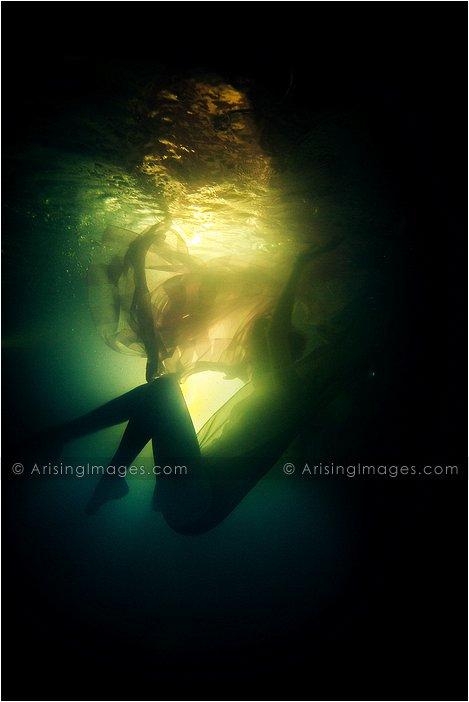 underwater portrait photography