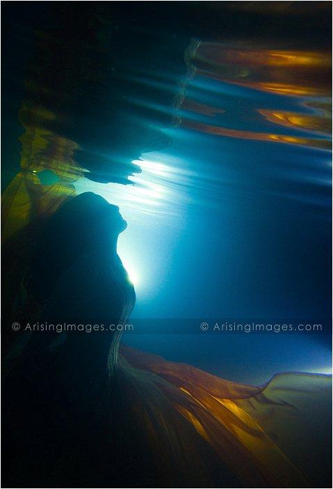 underwater portrait photography in michigan