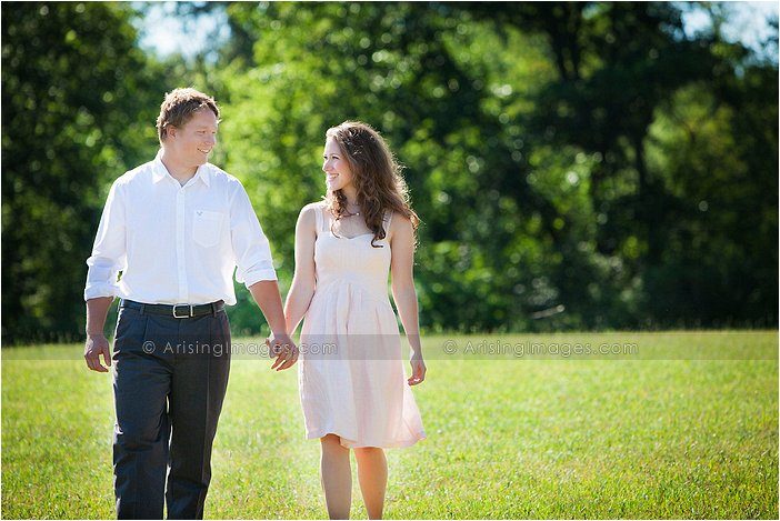 farm house engagement pictures in michigan