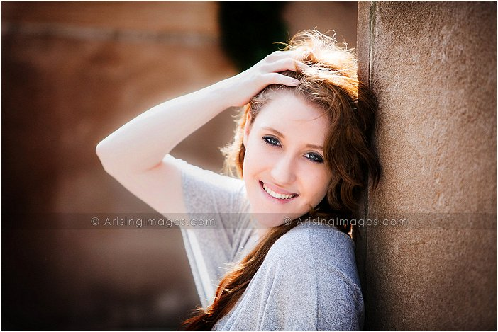 gorgeous high school senior photography at cranbrook