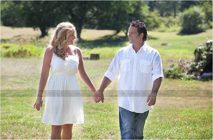 rustic engagement photography in southeast