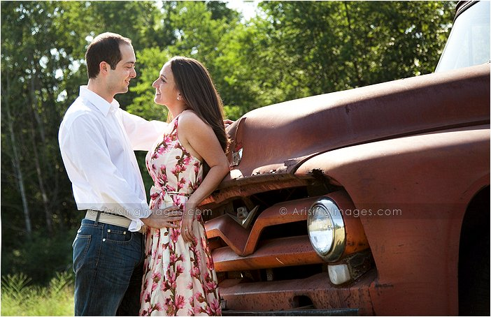 farm house engagement shoot in mi