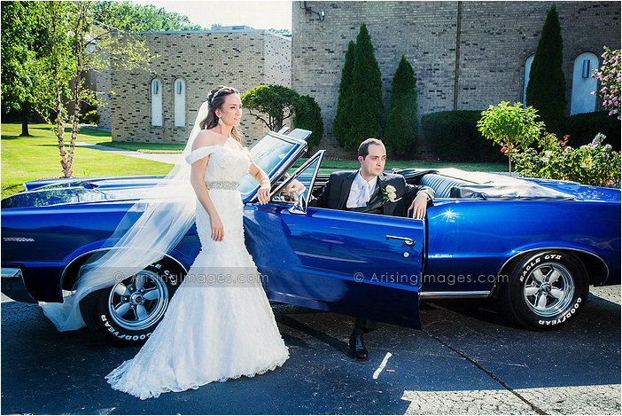 gorgeous wedding photography in wyandotte, mi