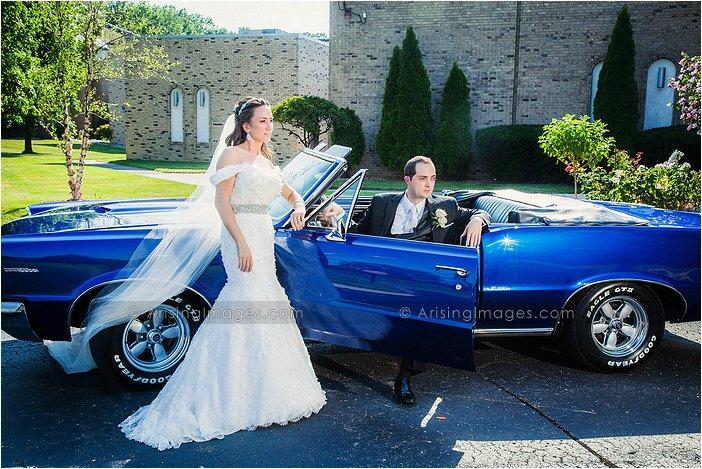 gorgeous wedding photography in wyandotte, mi