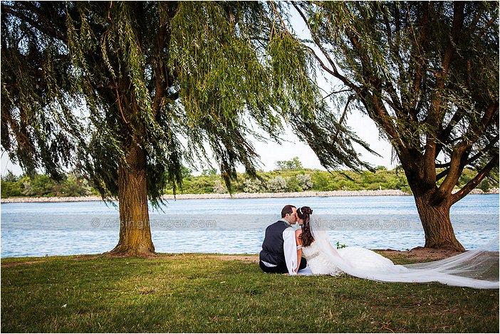 grecian center wedding photography