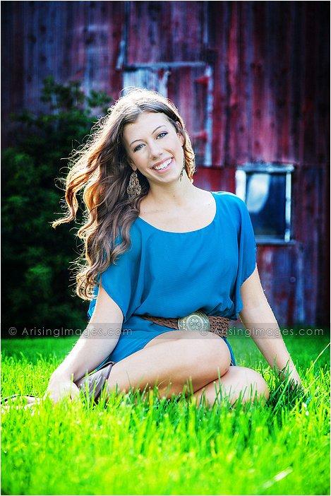 creative high school senior photography in michigan