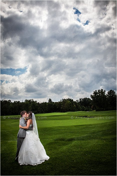 cherry creek golf course wedding photography