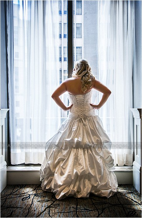 Westin Book Cadillac Wedding Photography