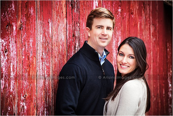 country style engagement shoot in oakland county michigan