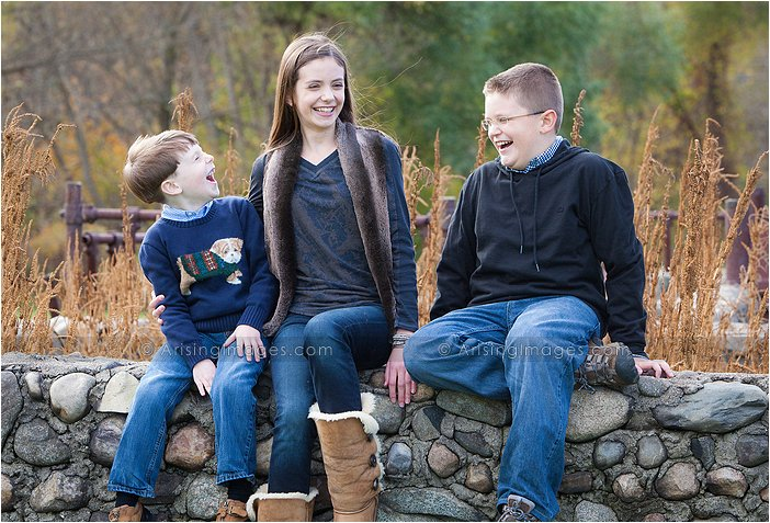 scenic michigan family shoot