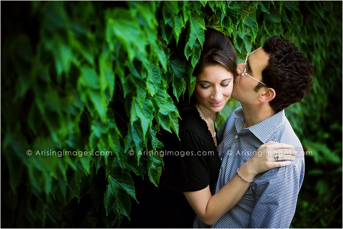 beautiful cranbrook engagement photos