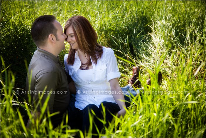 farmhouse engagement photos in michigan