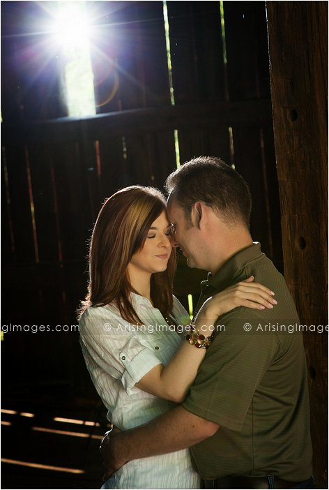 beautiful engagement photos in michigan