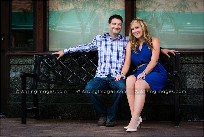 unique engagement photos in michigan