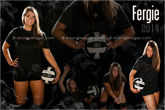 Volleyball Senior Pictures In Michigan