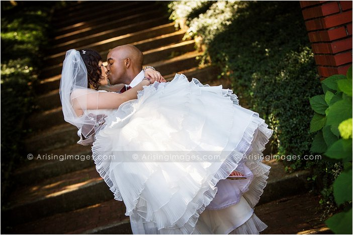 bride and groom photos at cranbrook