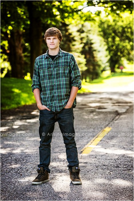 creative senior photography in michigan