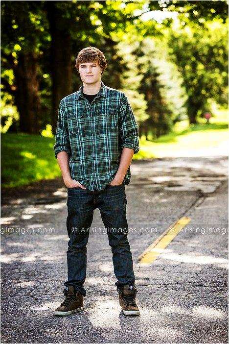 creative senior photography in michigan