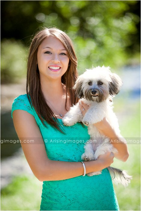 senior pictures with your dog in michigan