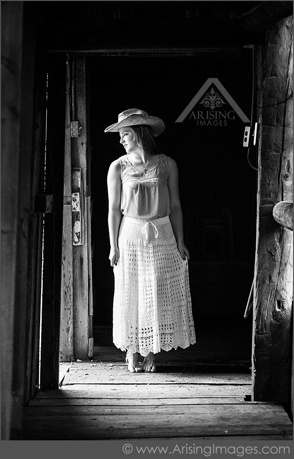Black and white senior photographers in Michigan