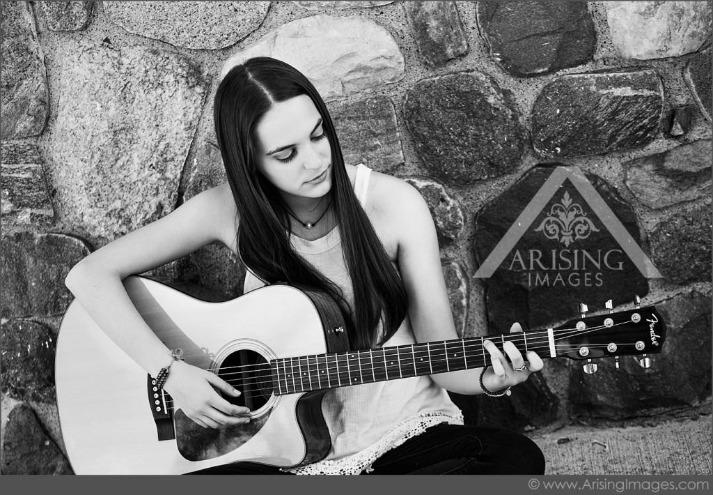 Cool Senior Picture Guitar Photos