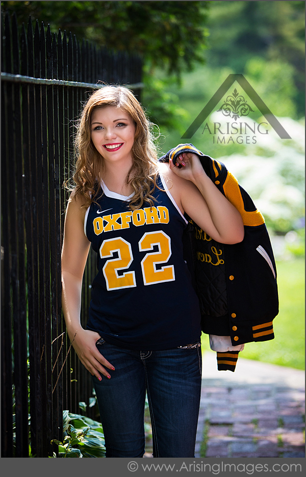 sporty michigan senior pictures