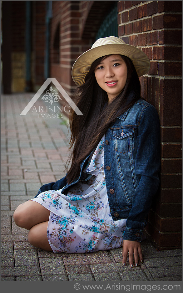 senior photos in Downtown Rochester
