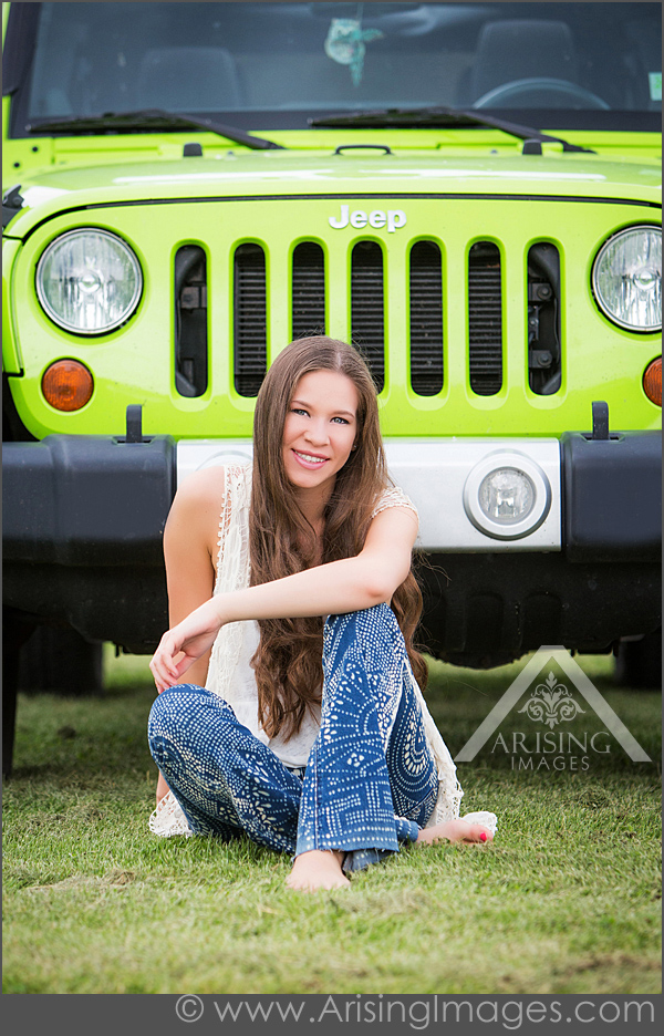 Senior Pictures With Jeep