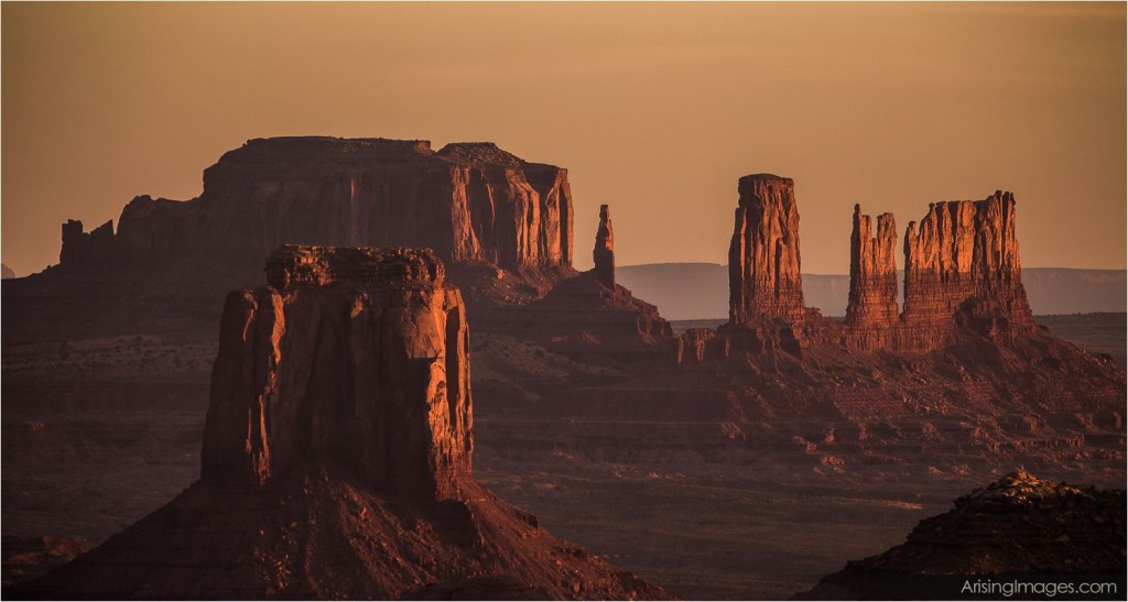 sunrise from hunts mesa