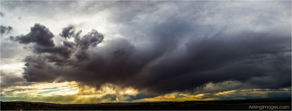 stormy skies above Canyonlands