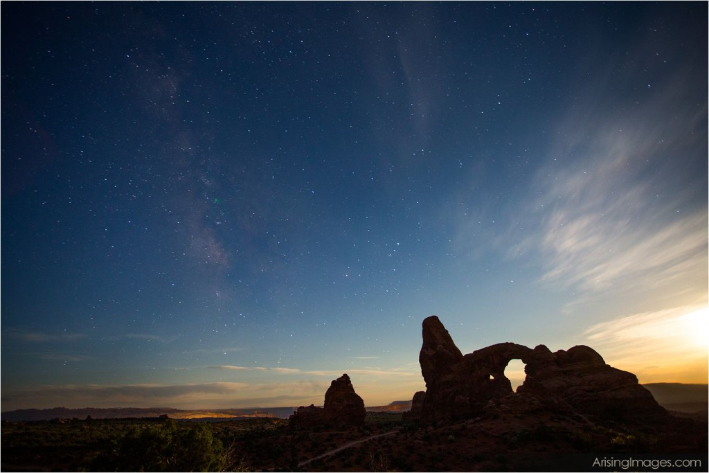 turret arch morning