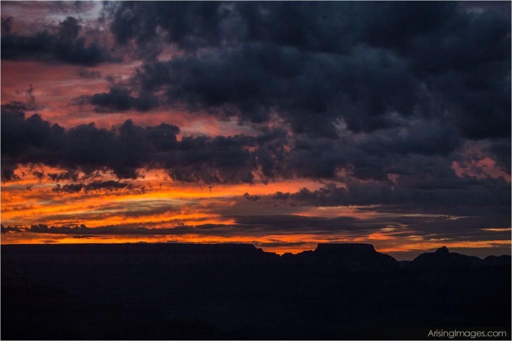 hopi point sunrise grand canyon