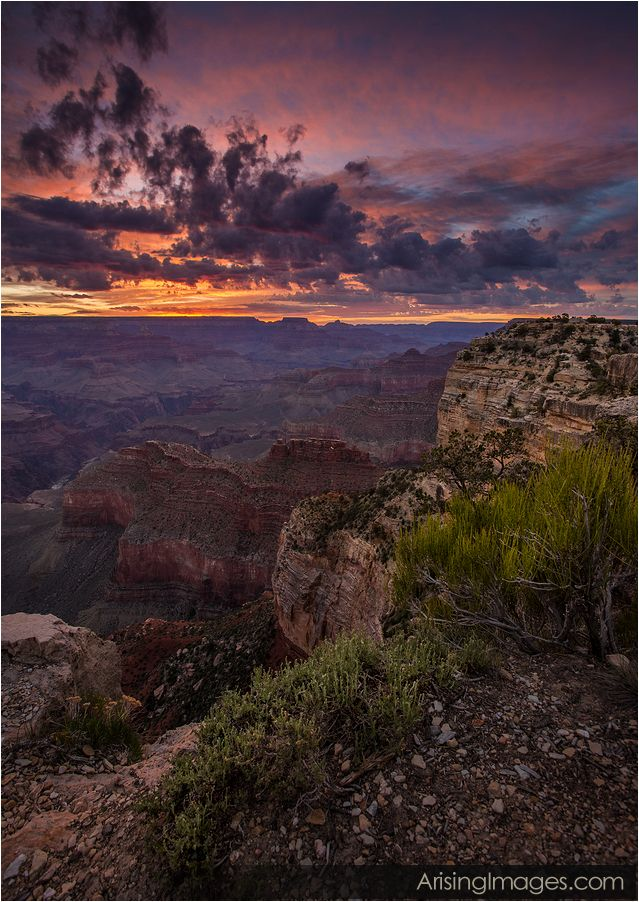 hopi point sunrise grand canyon
