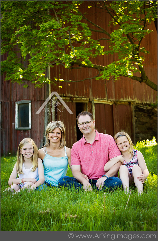 barn family photos