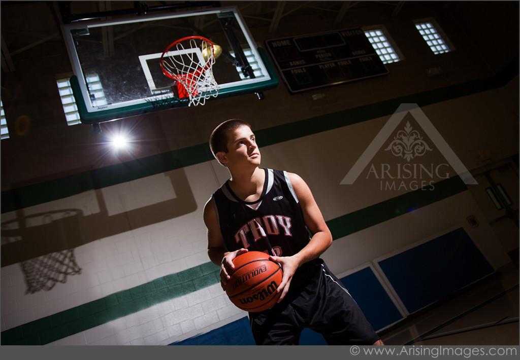 Basketball senior pics