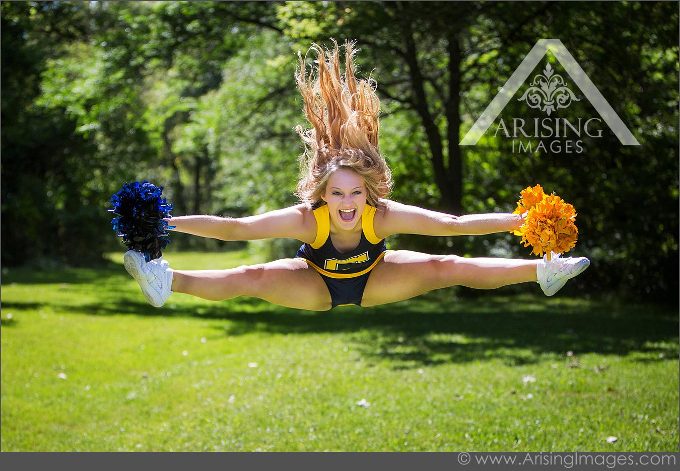 Cool cheerleading seanior pictures
