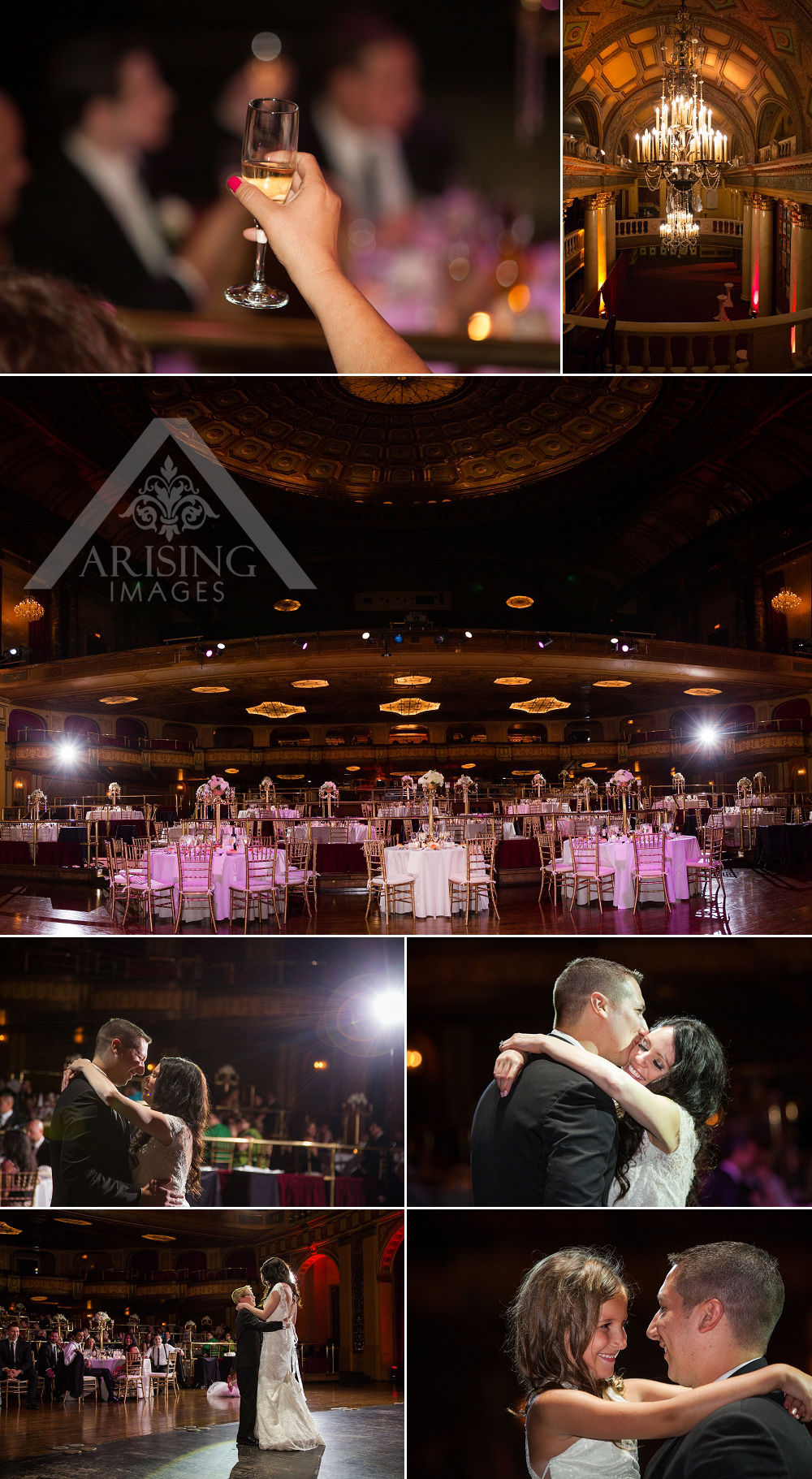 Detroit Wedding Photography at the Fillmore