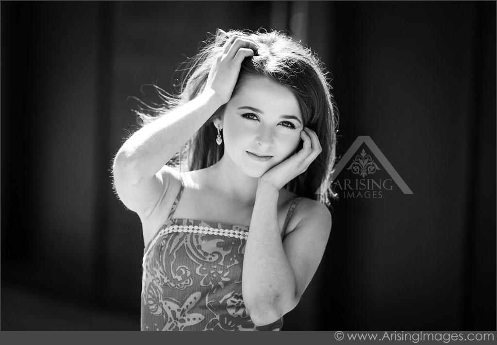 Best black and white senior photos
