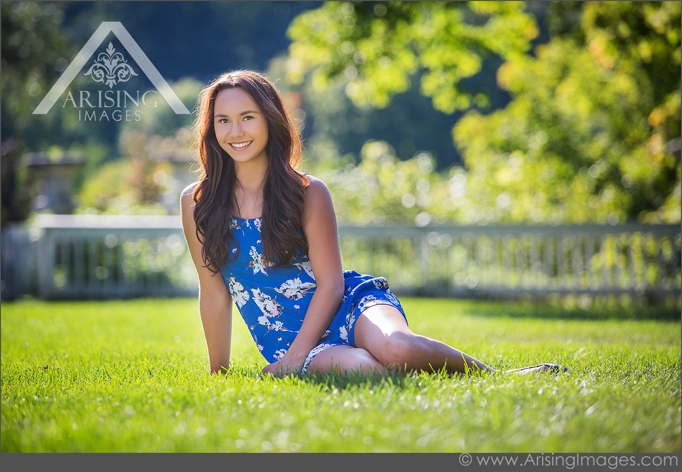 Beautiful Michigan Senior Photos at Cranbrook