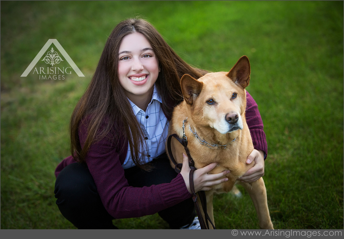 Cool senior pictures with pets