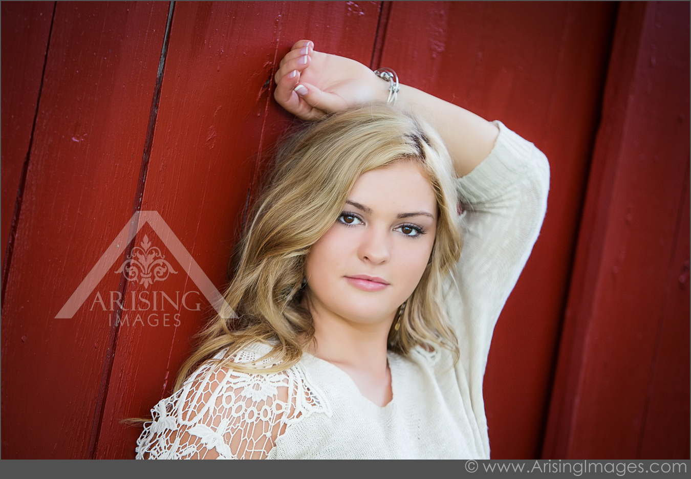 Beautiful barn senior pictures