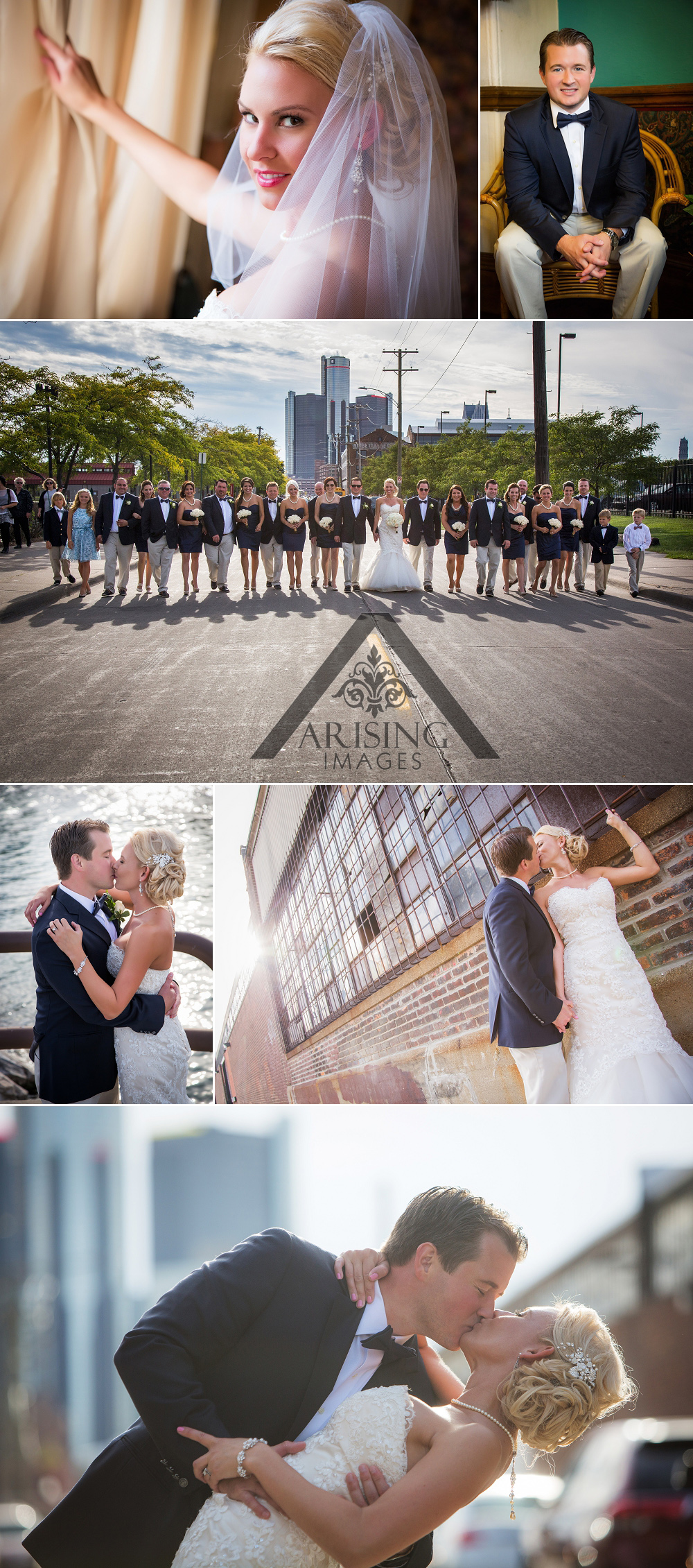Unique Michigan wedding photography