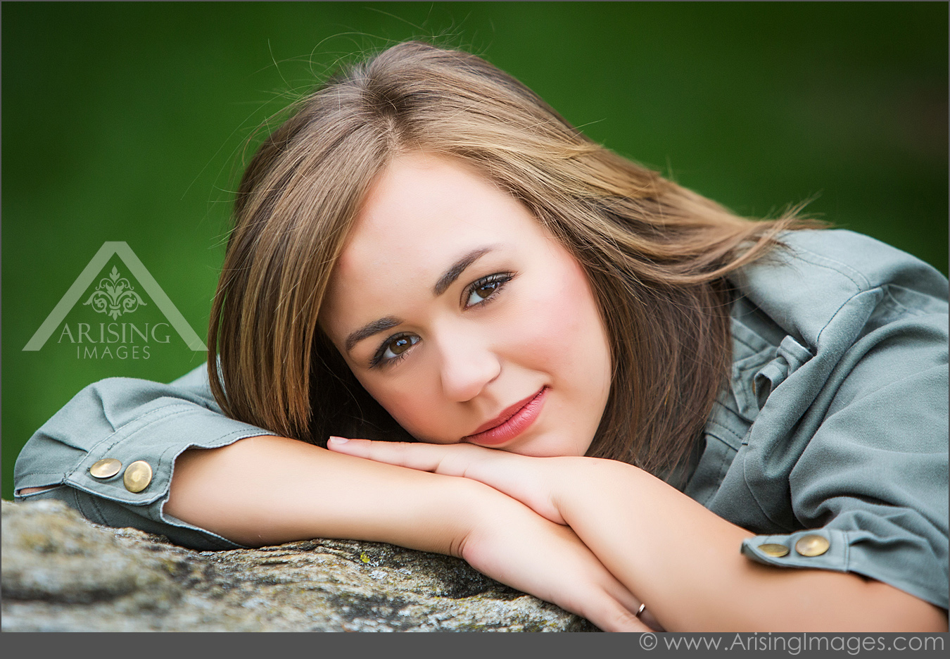 natural senior picture photography