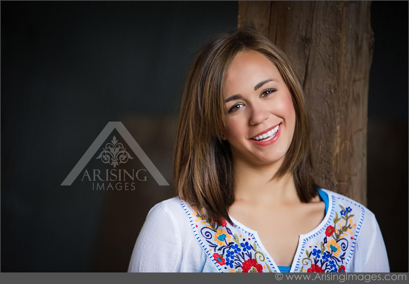 Candid senior photography
